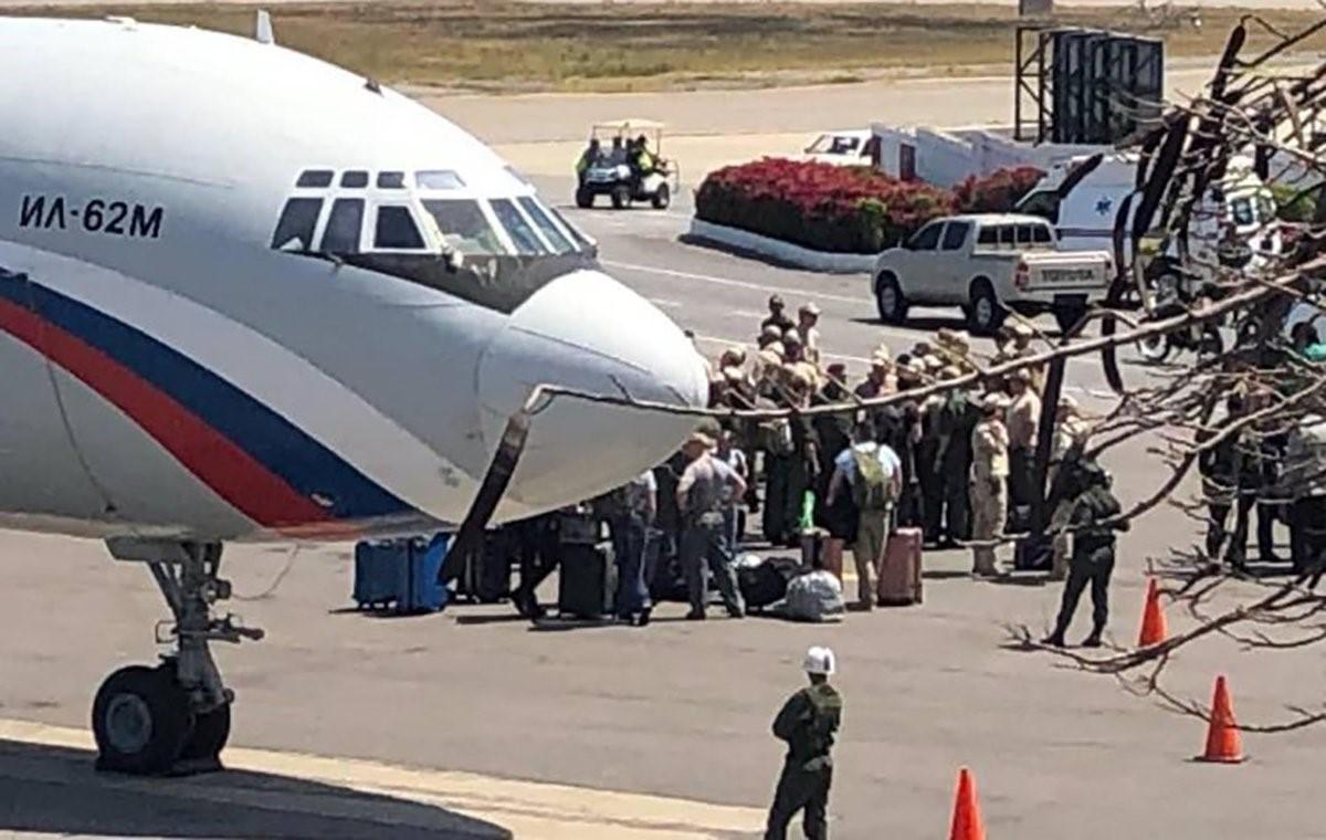 Российские военные прибыли в аэропорт Каракаса