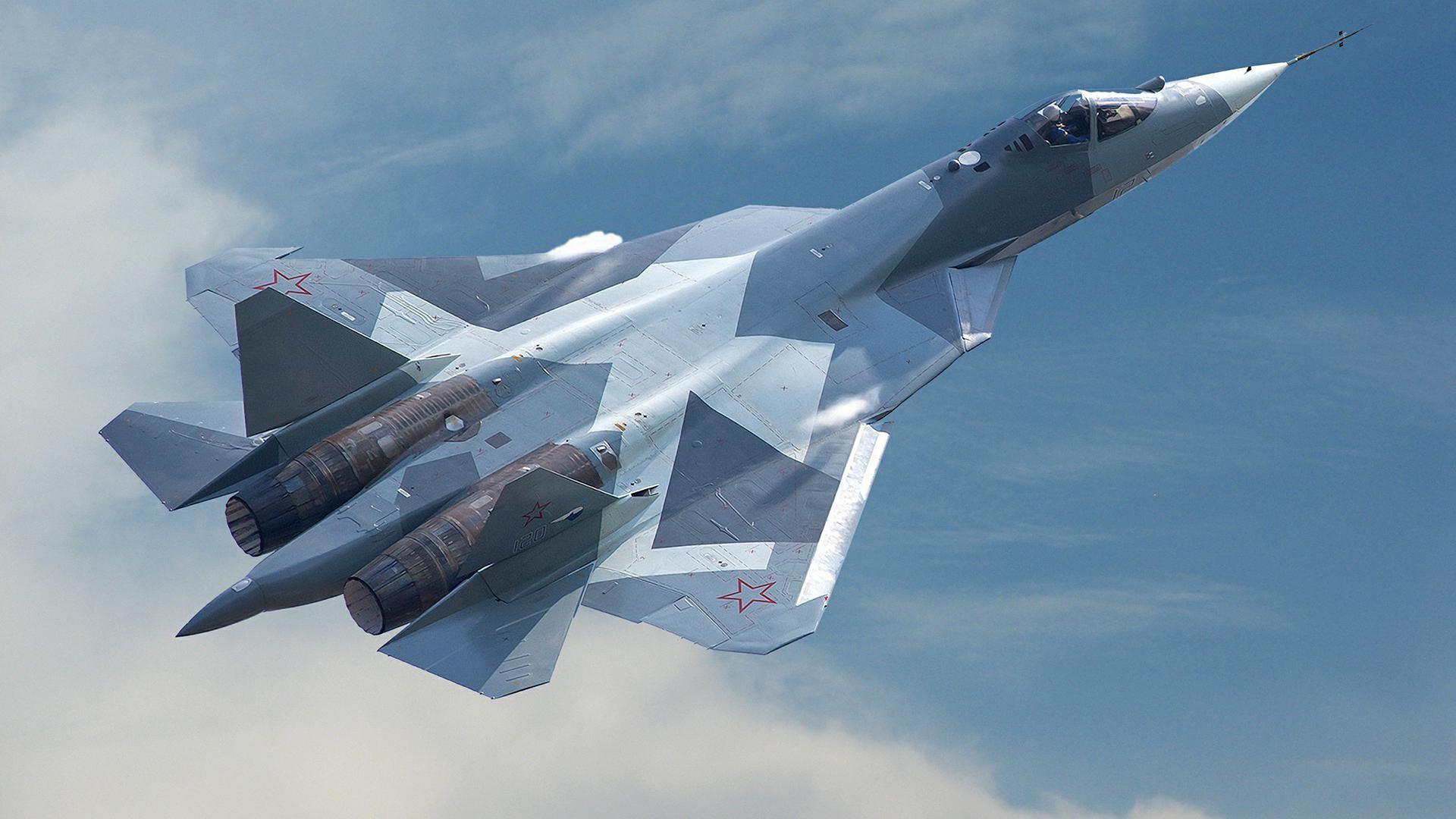 Российский истребитель Су-57