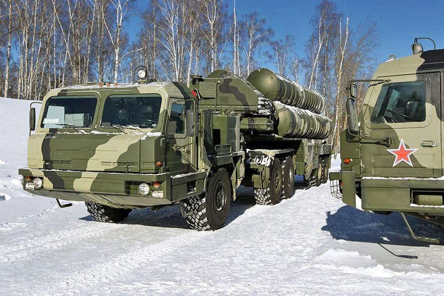 С-400 под Калининградом