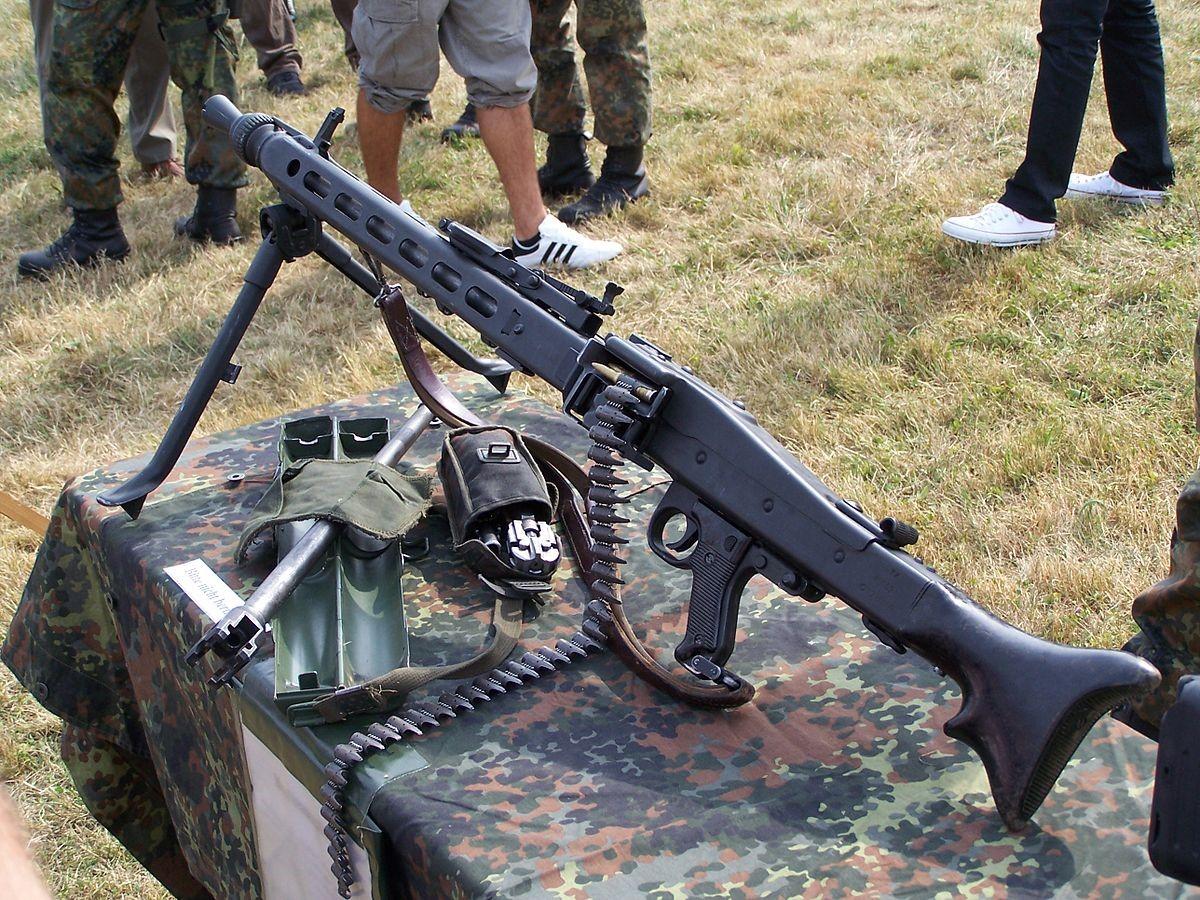 Самый скорострельный пулемет MG3