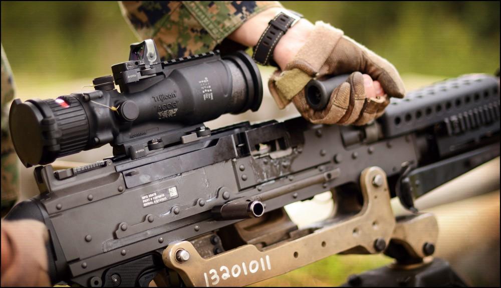 Самый универсальный пулемет М240