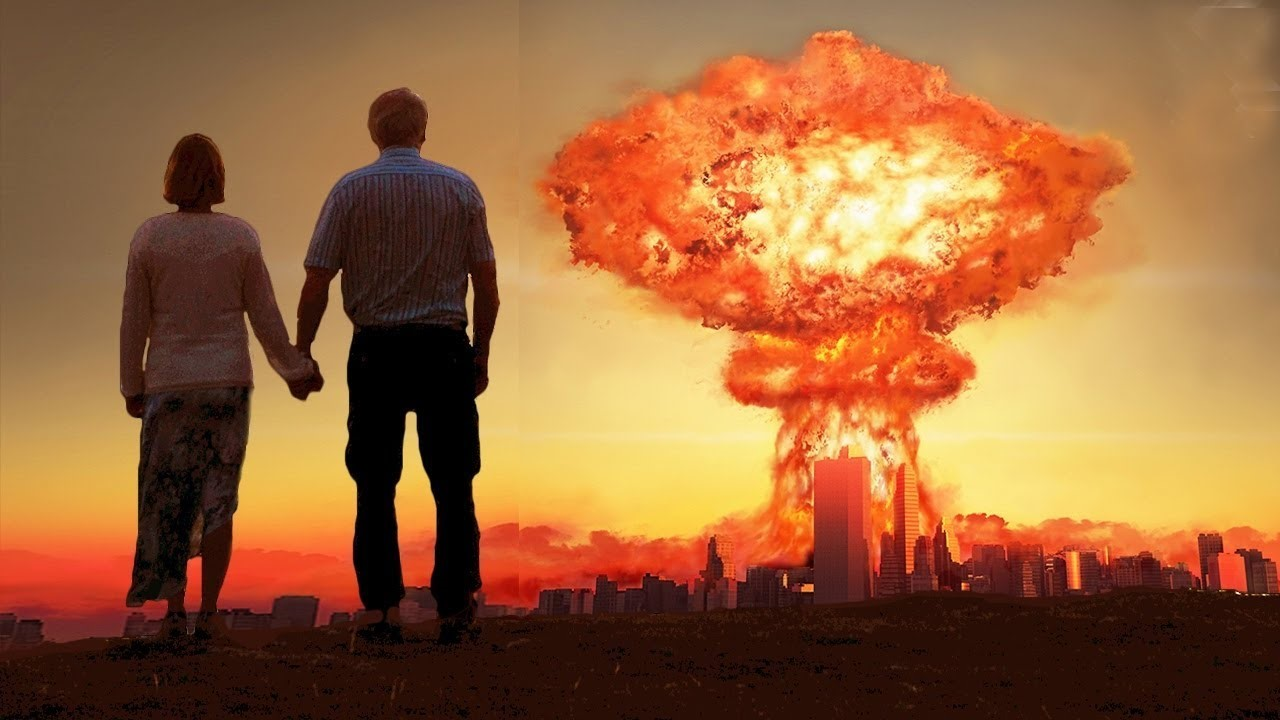 Сброшенная на город атомная бомба