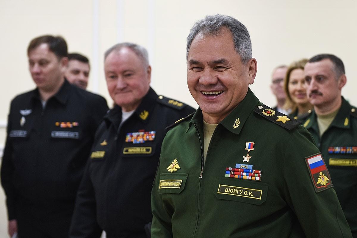Шойгу и генералы