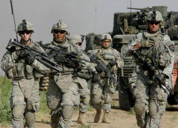 Солдаты американской армии