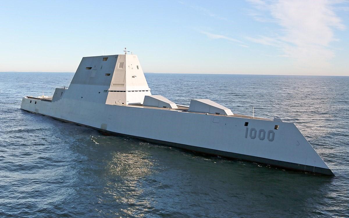Стелс-корабль американского флота