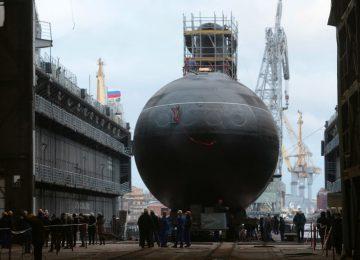 Строительство новой субмарины
