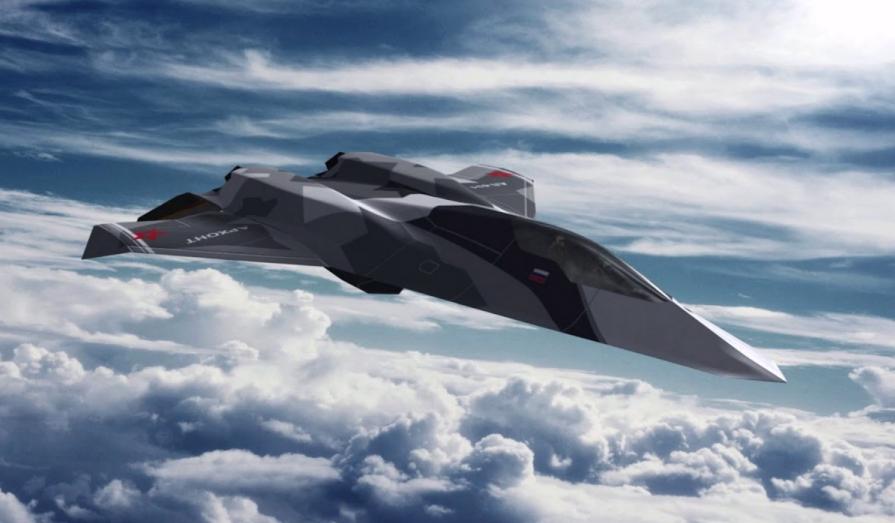 Так, предположительно, будет выглядеть истребитель шестого поколения
