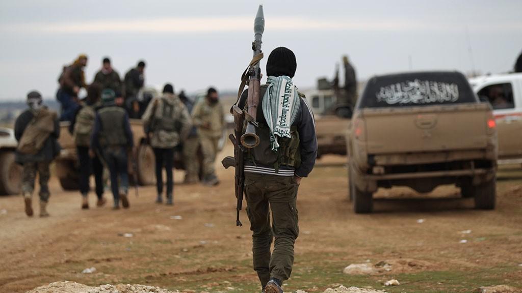 Террористы в САР