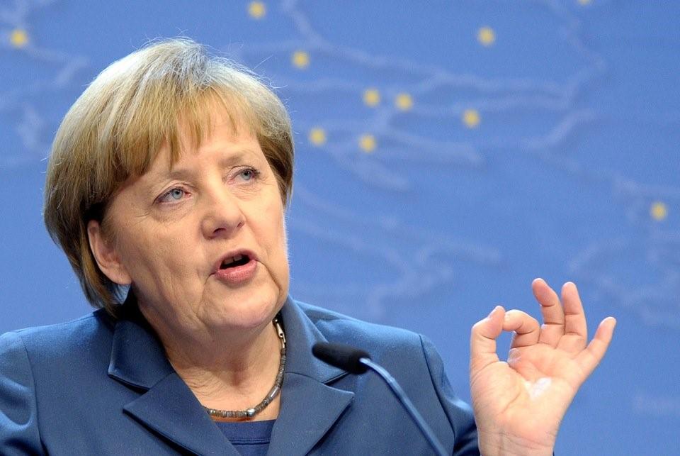 Выступление Ангелы Меркель