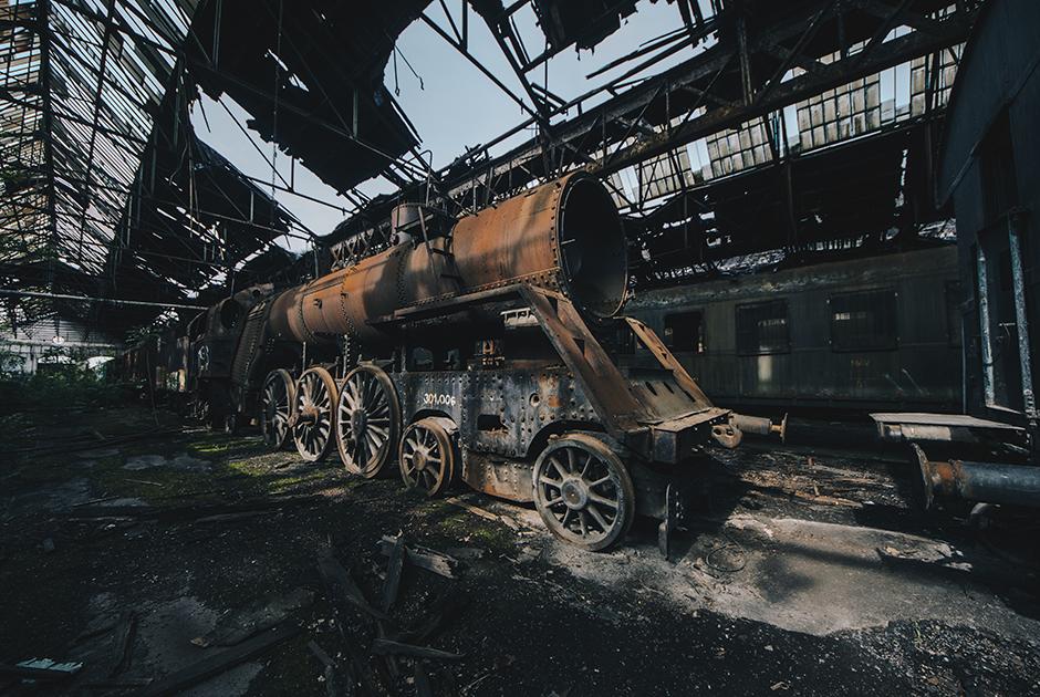 Забытые поезда