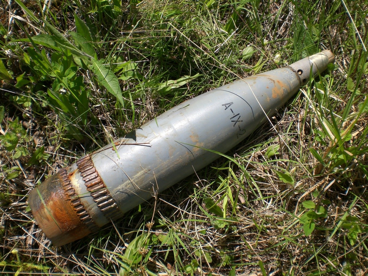 100-миллиметровый снаряд БМП-3