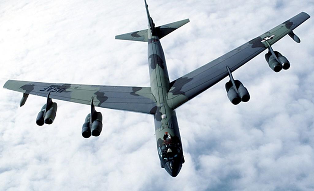 Американский бомбардировщик в афганском небе