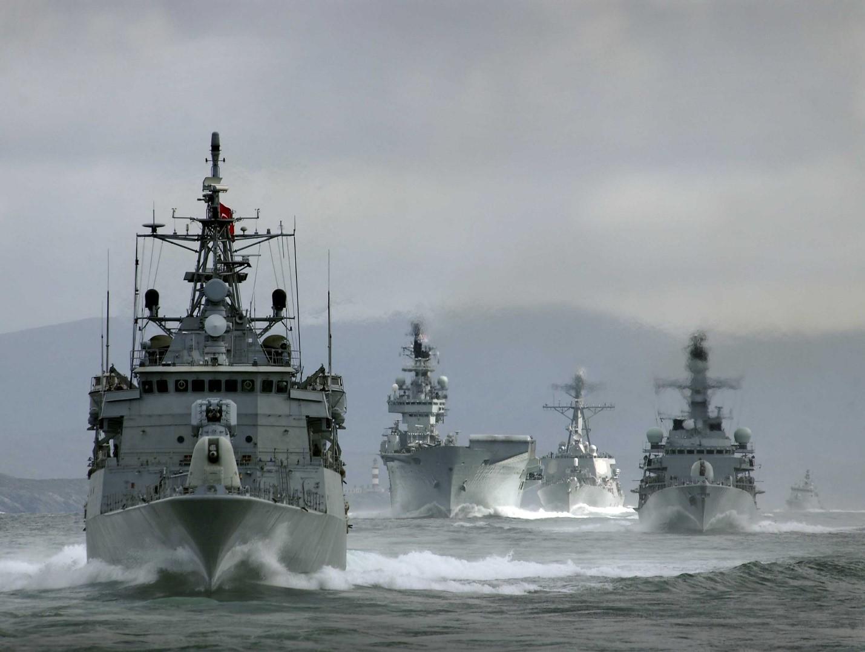 Боевые корабли НАТО