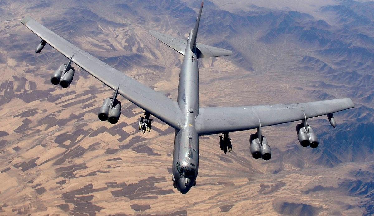 Бомбардировщик США В-52