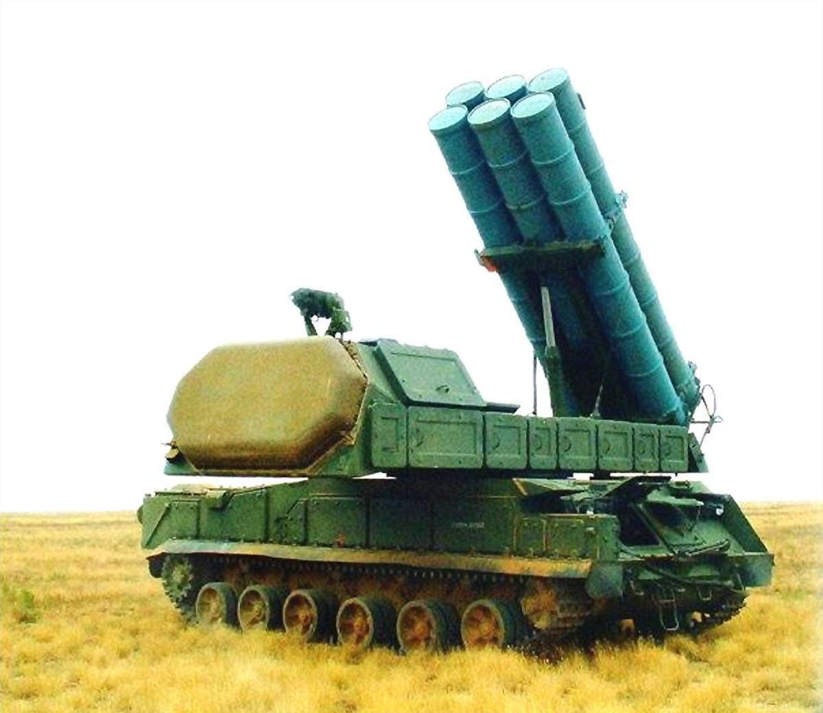 «Бук-М3» готовится вести огонь