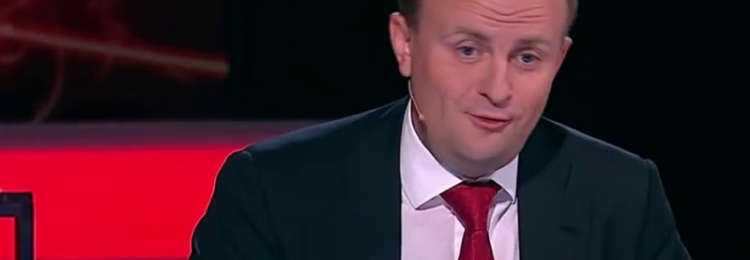 Дмитрий Некрасов на телепередаче