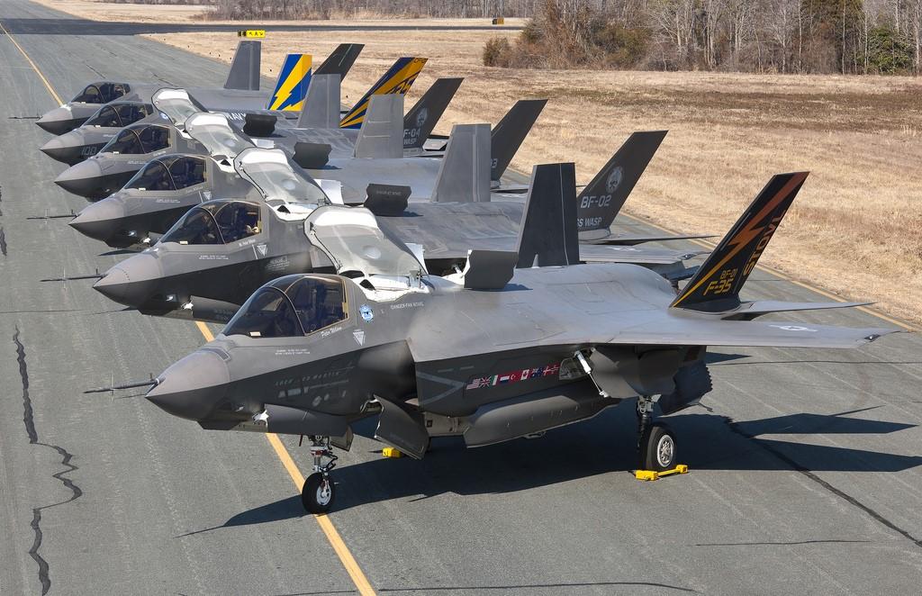 F-35 готовы к взлету