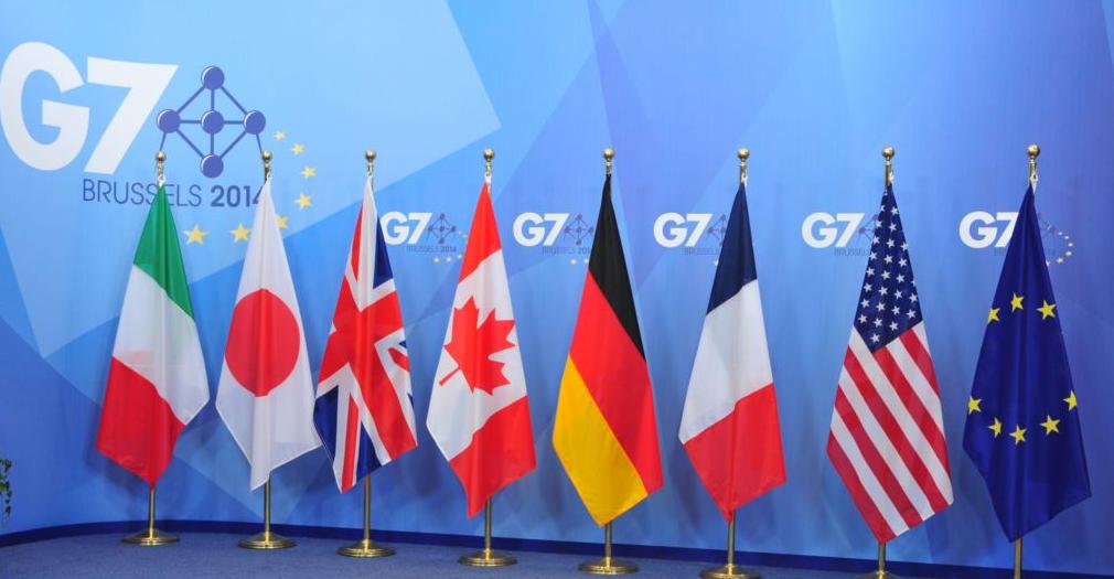 Флаги стран-участниц G7