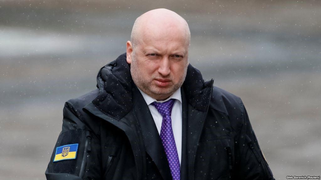 Глава СНБО Украины Александр Турчинов