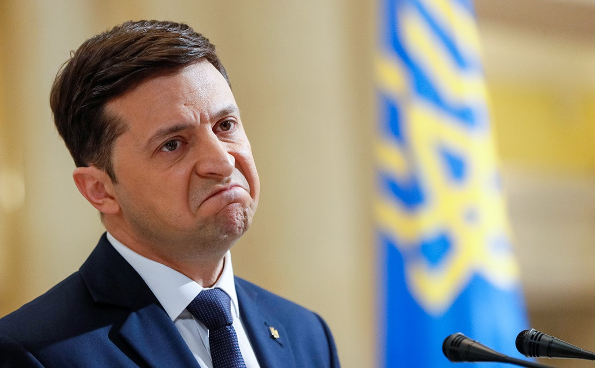 Кандидат в президенты Украины Зеленский