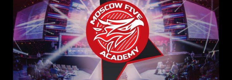 Логотип Moscow Five