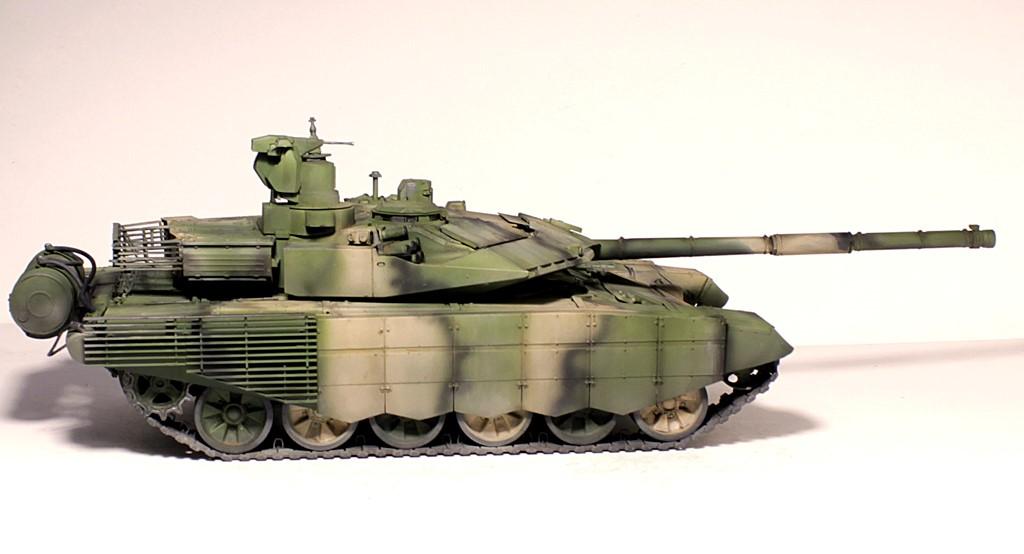 Макет танка Т-90МС