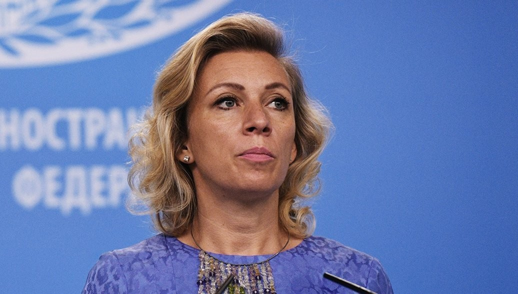 Мария Захарова, представитель МИД РФ