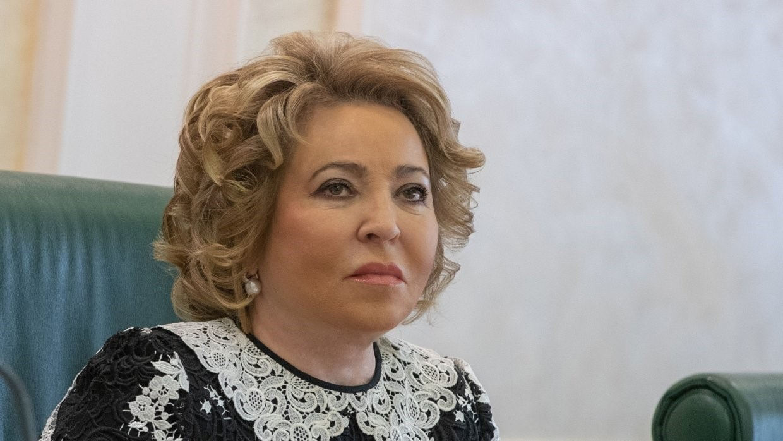Матвиенко в Совете Федерации