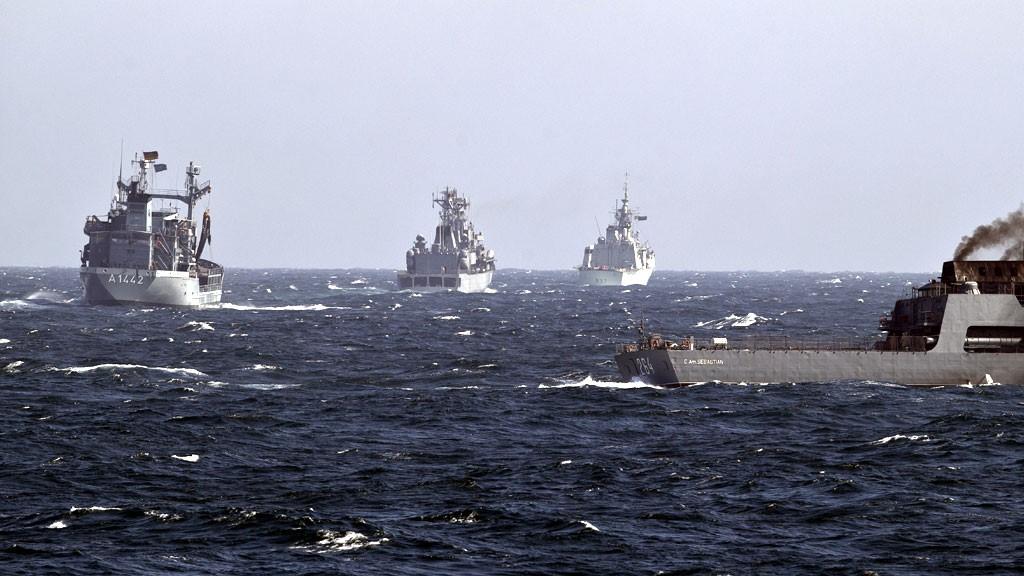 НАТОвские эсминцы