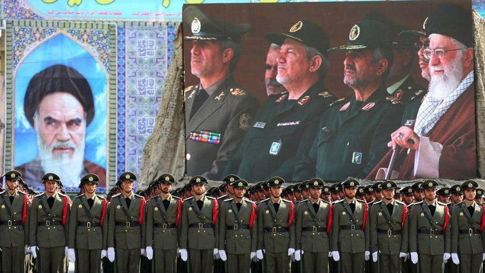 Парад армии Ирана