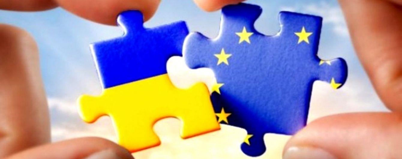 Паззлы в цветах Украины и ЕС