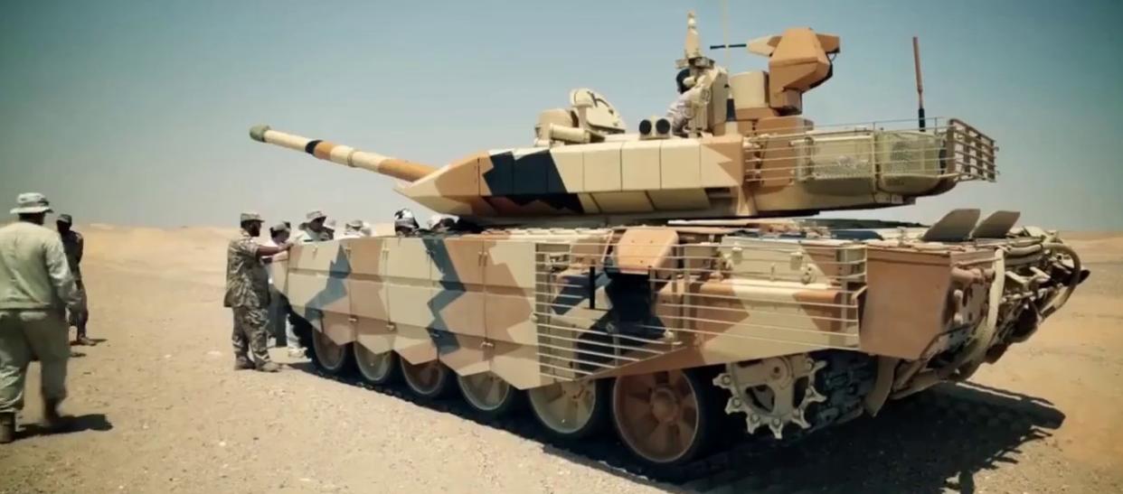 Переданный Индии Т-90МС