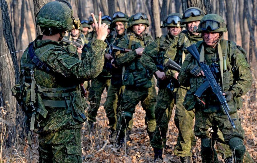 Подготовка бойцов ЧВК Вагнера