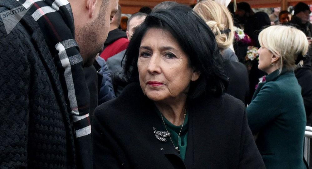 Президент Грузии долгое время работала в правительстве Франции