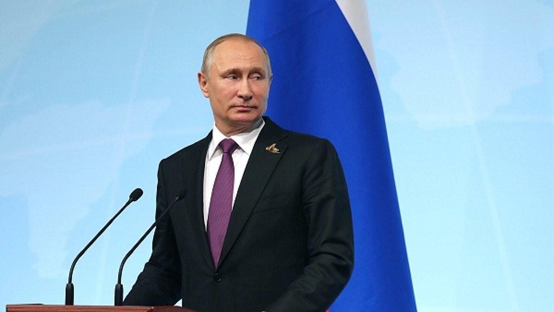 Президент России Путин