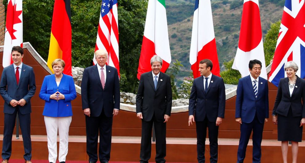 Президенты «Большой семерки»