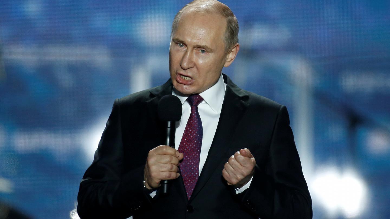 Путин говорит об адекватном ответе со стороны России