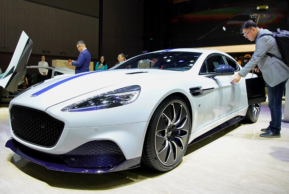 Rapid E от Aston Martin
