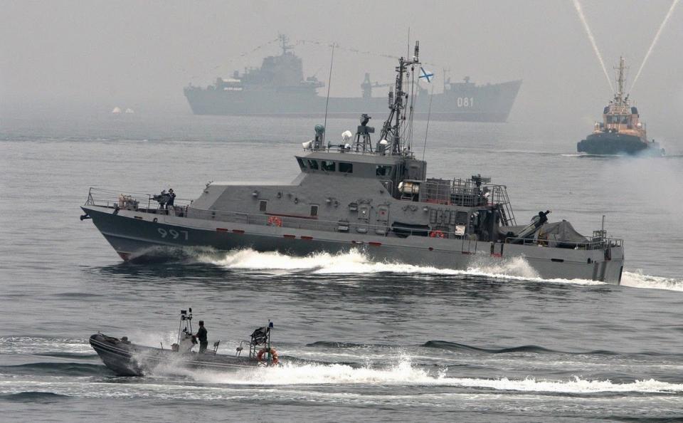 Российские фрегаты