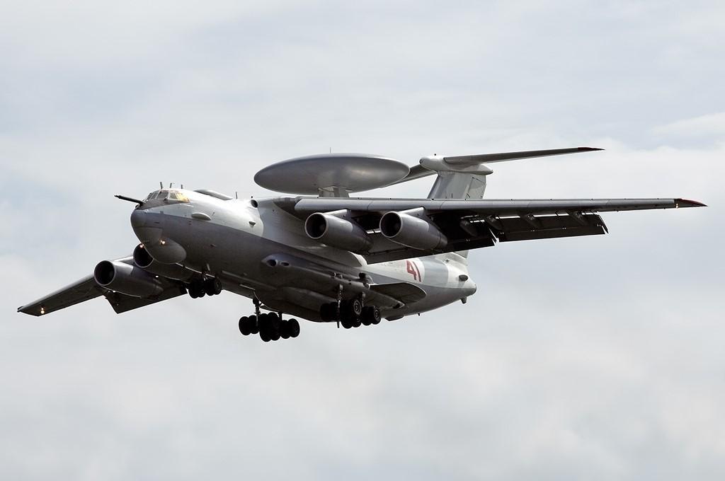 Российский радиолокационный самолет