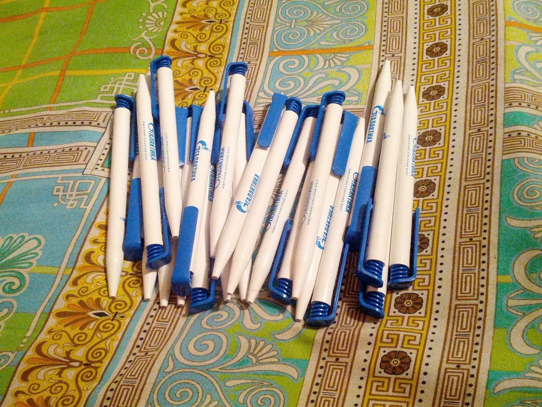 Ручки с логотипом Газпрома