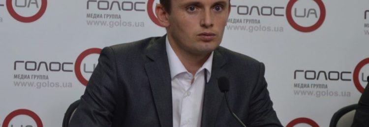 Руслан Бортник дает интервью