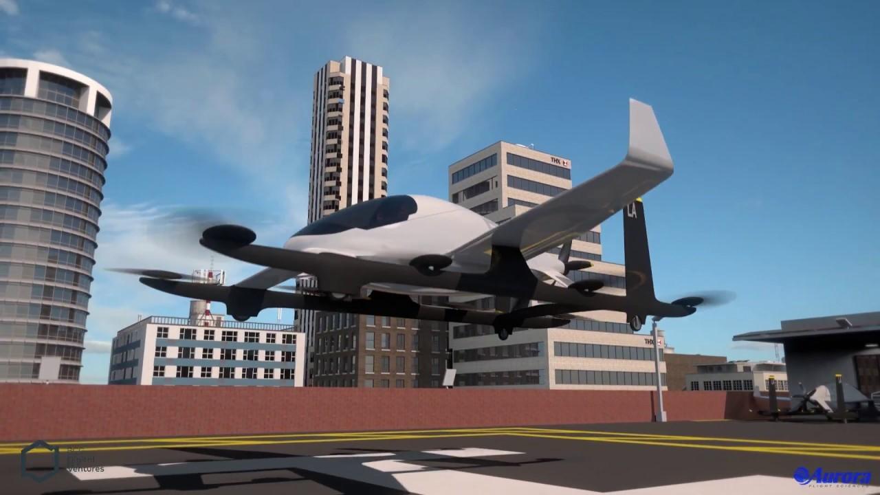 Самолет с электромотором