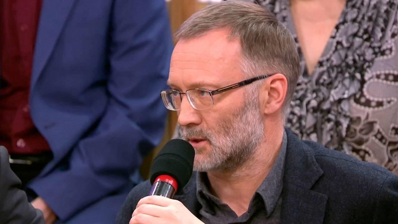 Сергей Михеев на политической ТВ-передаче