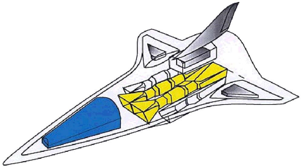 Схема самолета «Аякс»