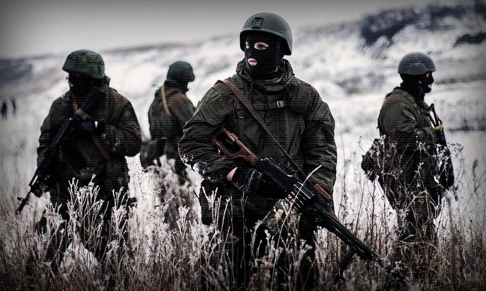 Солдаты российской ЧВК на задании