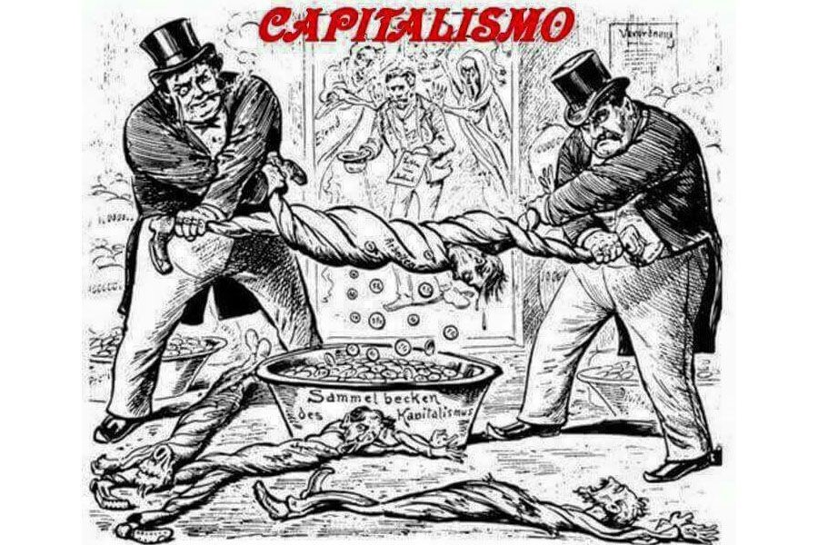 Советская карикатура на капитализм