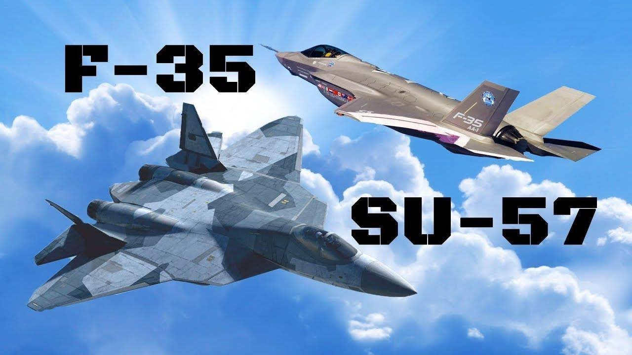 СУ57 и F35