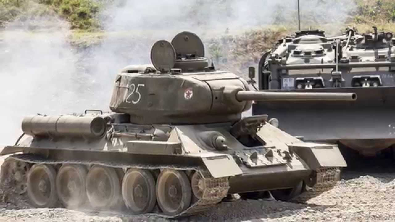 Т-34-85 на полях сражений