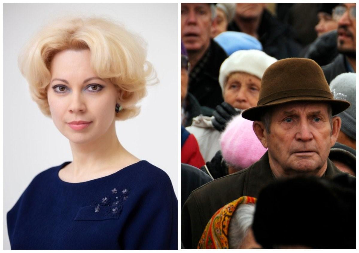 Татьяна Боженко и пенсионер